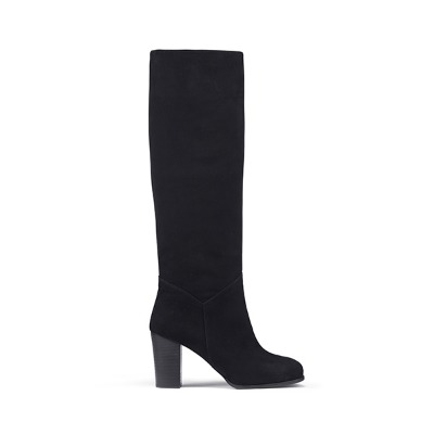 LAUREN - BLACK SUEDE